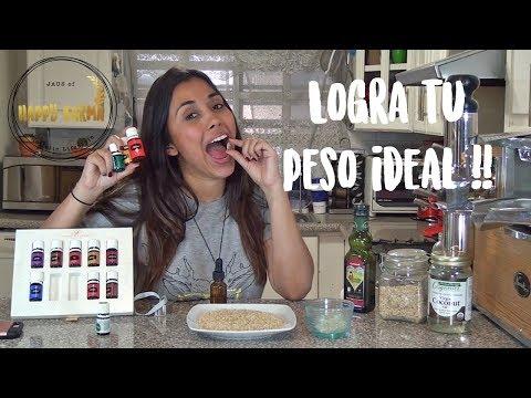 Peso ideal - Lograr un peso saludable con aceites esenciales!!