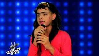 Menina pobre solta a voz e Vence o The Voice Brasil!