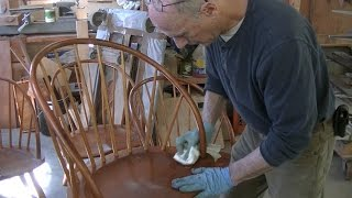 Restoring a Set of Thomas Moser Chairs