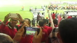 Semangat Kami Takkan Pernah luntur demi mendukung INDONESIA ku