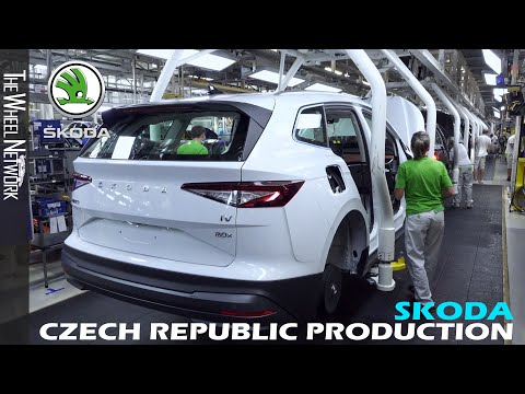 Skoda Enyaq iV Production in the Czech Republic