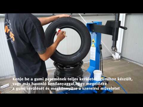 Vyzúvačka pneumatík U-201