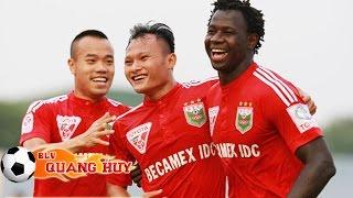 B.Bình Dương vs XSKT Cần Thơ - V.League 2015 | HIGHLIGHT, công phượng, u23 việt nam, vleague