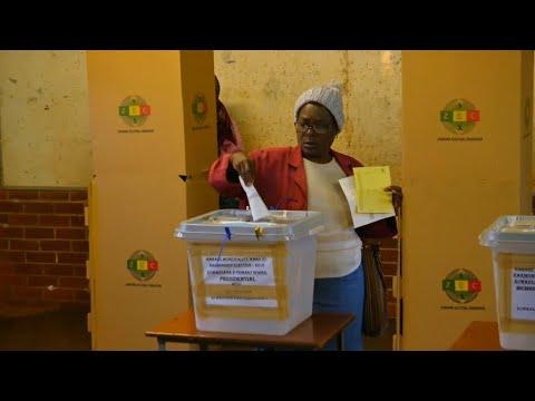 Simbabwe: Erste Präsidentenwahl seit dem Sturz Mugabe ...