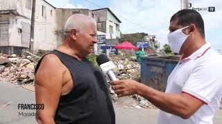 Moradores reclamam de coleta de lixo e entulho em Fazenda Coutos