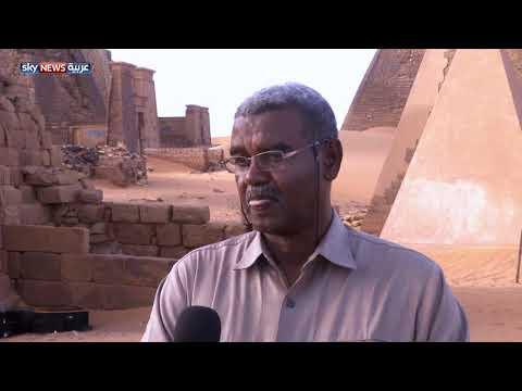 العرب اليوم - السودان تفتتح غرفة الدفن في الهرم التاسع