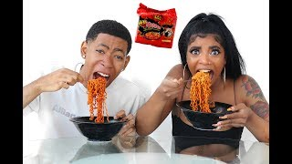 2X SPICY NUCLEAR RAMEN CHALLENGE (DO NOT TRY)