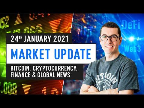 Bitcoin, Ethereum, DeFi & Global Finance News – January 24th 2021