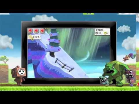 Video of Paper Monsters 3d platformer