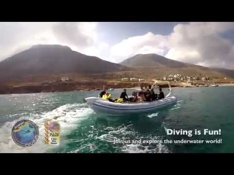Diving in Amorgos