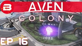 Aven Colony Gameplay - TENRAIR GLACIER DISASTER #16 (Let's Play Aven Colony Beta)