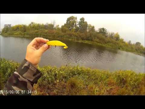 ловля щуки на реке лена