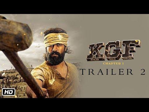KGF Trailer 2 | Hindi | Yash | Srinidhi | 21st Dec 2018