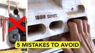 5 BIG Mistakes when Hangboarding by  rockentry