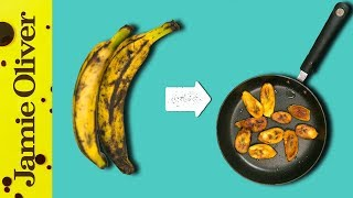 How To Fry Plantain   1 Minute Tips   Shay Ola by Jamie Oliver