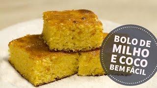 Hoje vai ter receita deliciosa de liquidificador, e vamos fazer um bolo de milho e coco bem fácil.É um vídeo super rápido onde você vai aprender uma receita que usamos há tempos aqui na Vila de bolo de milho e coco.Anote, teste e guarde, porque você vai amar.Post:http://bit.ly/bolo_milho_cocoSite: https://www.viladoartesao.com.brFacebook: https://www.facebook.com/viladoartesao/Pinterest: http://br.pinterest.com/viladoartesao/Instagram: http://instagram.com/vila_do_artesao
