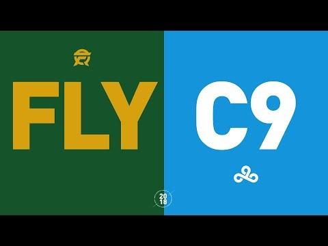 FLY vs. C9 - NA LCS Week 9 Match Highlights (Summer 2018) (видео)
