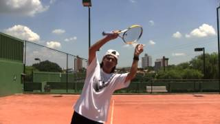 Tennis Highlights, Video - Tennis Tips: Serve: Correct Toss For Kick Or Topspin Serves