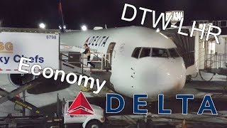 FlyWithMe! | FLIGHT REPORT | DTW-LHR Delta Airlines | ECONOMY 767