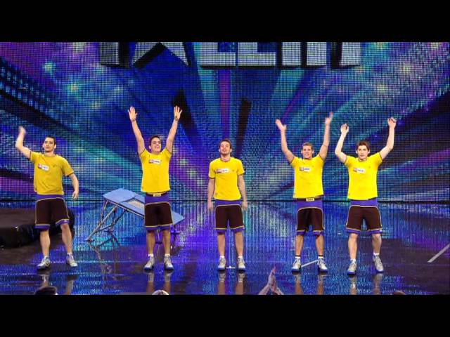 Màn trình diễn bóng rổ ấn tượng tại Britain's Got Talent