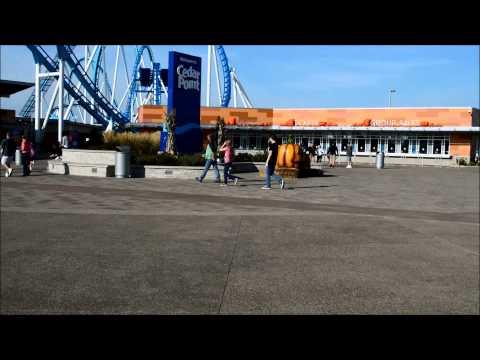 Cedar Point Halloweekends Trip Sept 19th , Day 1 Part 1 (видео)