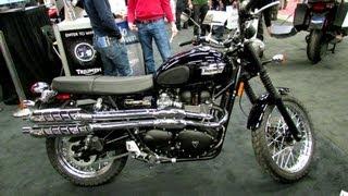 2. 2013 Triumph Scrambler 900 - Walkaround - 2013 Montreal Motorcycle Show