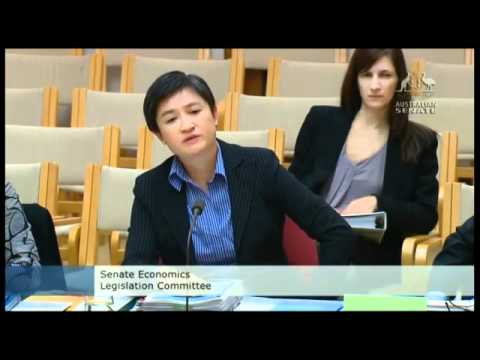 Penny Wong Meowed at by David Bushby