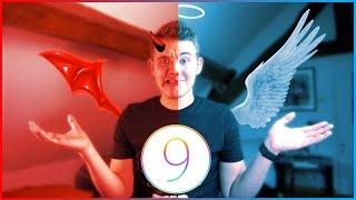iOS 9 : j'aime / j'aime pas !, ios 9, ios, iphone, ios 9 ra mat