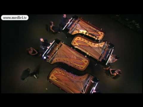Vivaldi Four Seasons (Spring) - Y. Wang, E. Ax, N. Goerner, J. Quentin (видео)