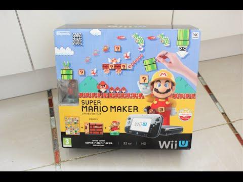 Wii U - Super Mario Maker (Premium Pack) - UNBOXING! [HD]