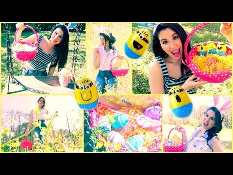 Easter Makeup Hair – DIY Minion Easter Eggs!