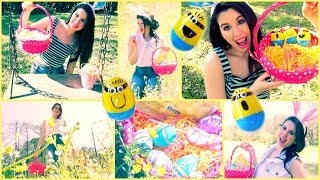 Easter Makeup, Hair&DIY Minion Easter Eggs!