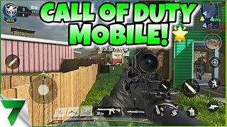 CALL OF DUTY MOBILE GAMEPLAY LEAKED!! THIS IS AMAZING!! | MOBILE NEWS!!