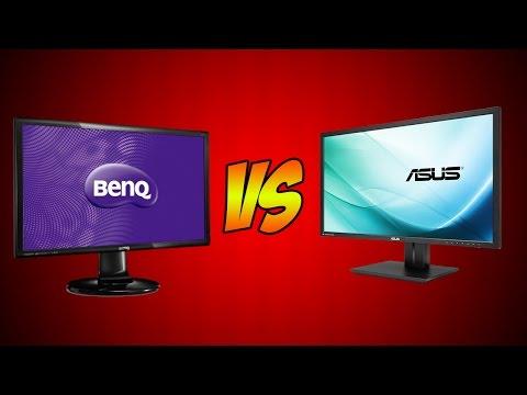 Asus vs BenQ! (Best Gaming Monitor)