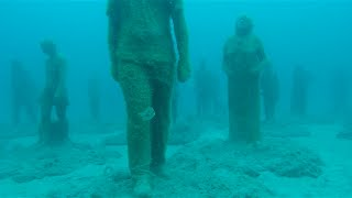 In Lanzarote, Canary islands, Spain, Museo Atlantico, Europes first underwater museum was opened at the beginning of 2016. I was fortunate enough to be ...