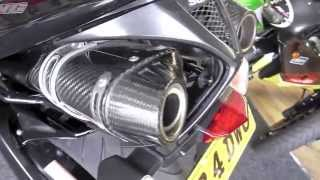 9. 2008 SUZUKI GSX1300 B-KING DUAL YOSHIMURA CARBON  CANS, 1 OWNER, MINT