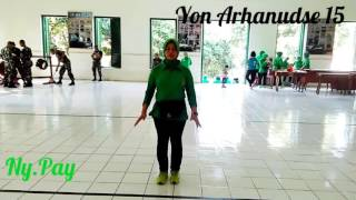 Senam Cha Cha Yon Arhanudse 15