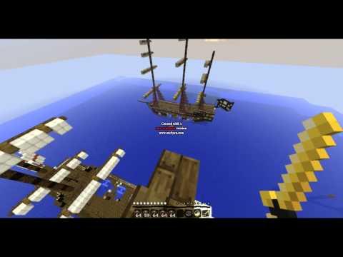 Minecraft | Progetto M | La battaglia navale