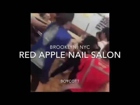 Brooklyn Nail salon Fight! SHUTDOWN!! Asians business and black people