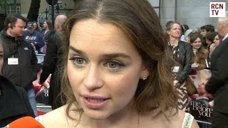 Emilia Clarke Interview Me Before You Premiere Subscribe to Red Carpet News: http://bit.ly/1s3BQ54 Red Carpet News TV talks...