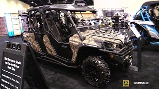 3. 2016 Can Am Commander Max XT 1000 ATV - Walkaround - 2015 AIMEXPO Orlando