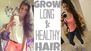 Word on the street says everyone wants to grow long healthy hair so Sandra Perez aka takecareandcareless aka Latina Repunzel aka sandy cheeks aka muah is here to help those in need. I hope you enjoy it and learn a thing or 2 :) HOW TO GROW LONG HEALTHY HAIR: https://www.youtube.com/watch?v=4QWYDSOP_t0&t=283sAll my fitness plans are available for purchase here: www.takecareandcareless.comKeep up with your girl on..  Instagram: @takecareandcarelessTwitter: @takecareandcareSnapchat: Sandraperez14----------------------------------------------------------------------------------