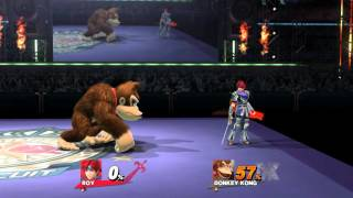 What if Roy had less lag? (Smash 4 Mod)