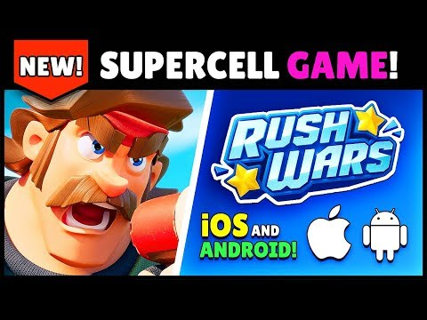 RUSH WARS NEW SUPERCELL GAME for Android amp iOS BETA on 0826