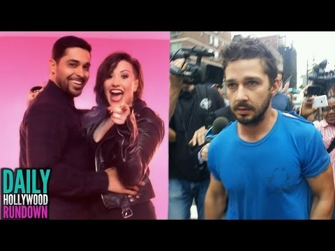 "Demi Lovato & Wilmer Valderrama TOGETHER in ""Really Don't Care"" Video & Shia LaBeouf ARRESTED! (DHR)"