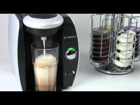 How To Make a Latte with Tassimo T Discs and Milk Frother Automatic Coffee Maker