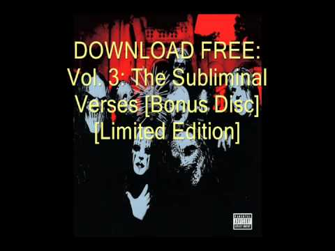Download Free: Vol. 3: The Subliminal Verses [Bonus Disc] [Limited Edition]