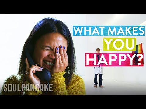happiness - What makes you happy? Have you ever wondered why? Join us as we take an experimental approach on what makes people happier. Behind the Scenes of the episode!...