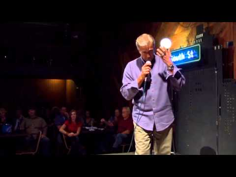 Walt Willey Stand-up Comedy - white hair
