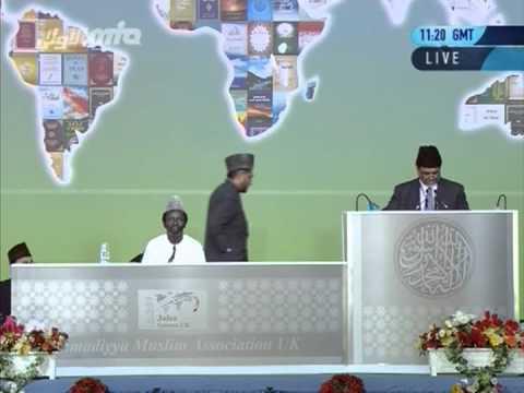 English Speech: Progress of Islam Ahmadiyyat depite the storms of opposition